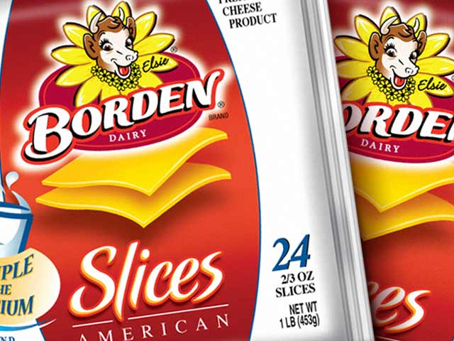 Packaging Design Borden Closeup