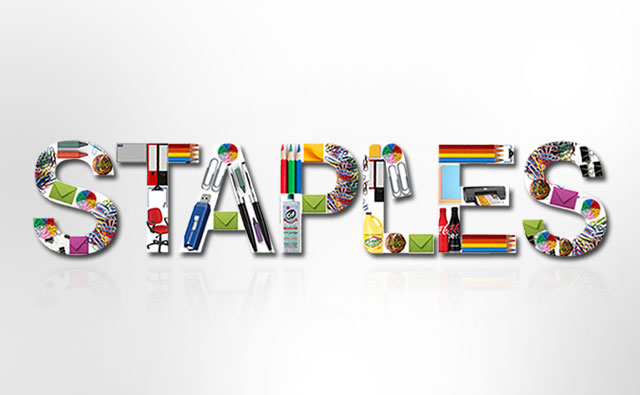 Staples Branding and Logo