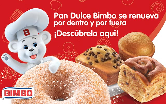 Activación de marca para Bimbo Pan dulce, detalle de góndola, México, Imaginity