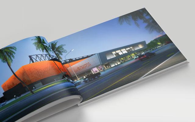 Diseño de libros institucionales del estudio de arquitectura F3 Architecture, Argentina - Imaginity