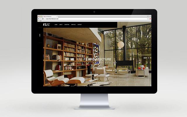 Desarrollo de página web responsive para el estudio de arquitectura F3 Architecture - Imaginity