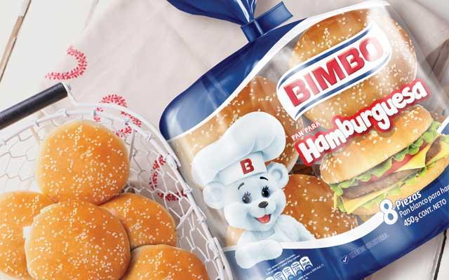 Diseño de empaque para la línea de panes de bollería para hamburguesas de Bimbo, México - Imaginity