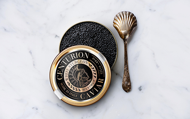 Branding and Packaging Design for Premium Centurion Caviar Italy made, White Sturgeon Maximus variety by Imaginity