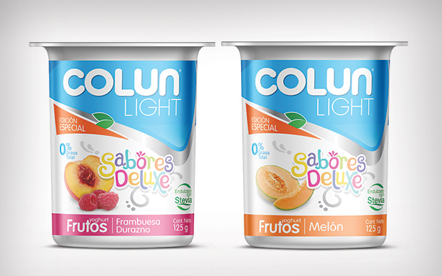 Packaging design and new logo for the special edition Colun Sabores Deluxe, Chile - Imaginity