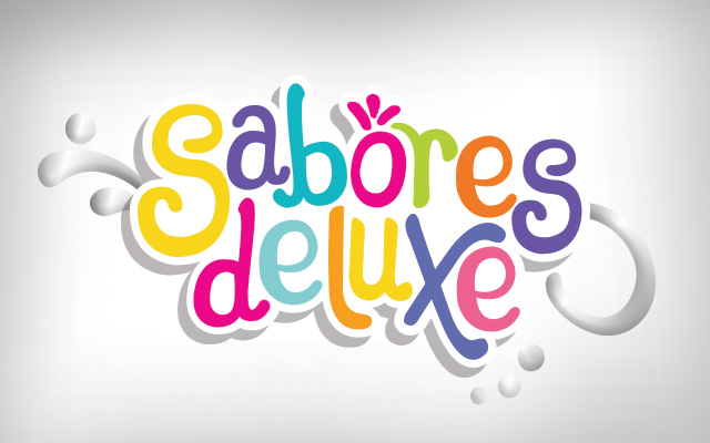 Logo design for the special edition of yoghurt for Colun light Sabores Deluxe, Chile - Imaginity