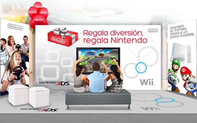 Brand activation and design of point of sale materials for the Nintendo brand in Latin America. Design: Imaginity