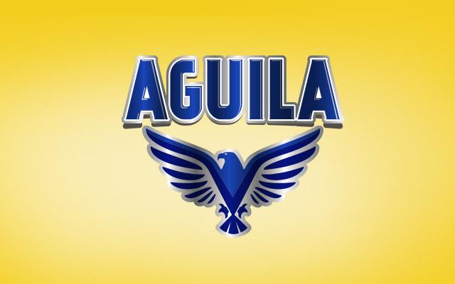 Detalle del branding para la etiqueta de la nueva cerveza saborizada Aguila Paraguay. Diseño: Imaginity.