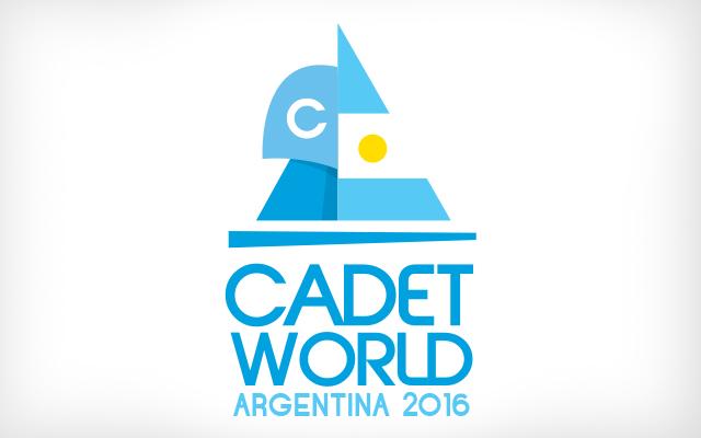 Logo design for Cadet World Argentina 2016 - Imaginity