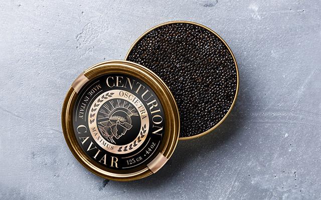 Diseño de empaque de latas de la marca premium caviar Centurion, Estados Unidos - Imaginity