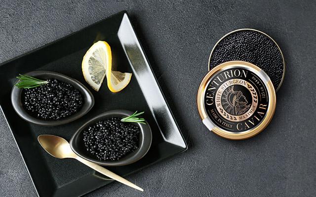 Diseño de packs de latas de caviar de máxima calidad de Centurion, Estados Unidos - Imaginity