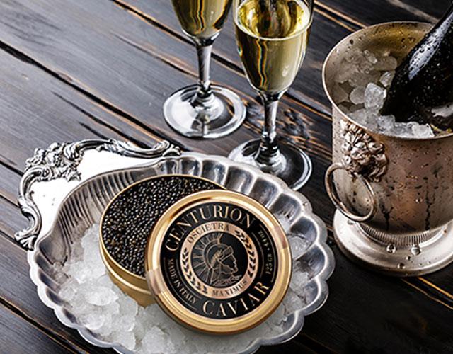 Diseño de etiquetas premium para la variedad de caviar de primer nivel de Centurion, Estados Unidos - Imaginity