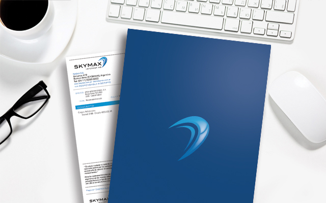 Institutional system development and brand activation for Skymax, Argentina - Imaginity