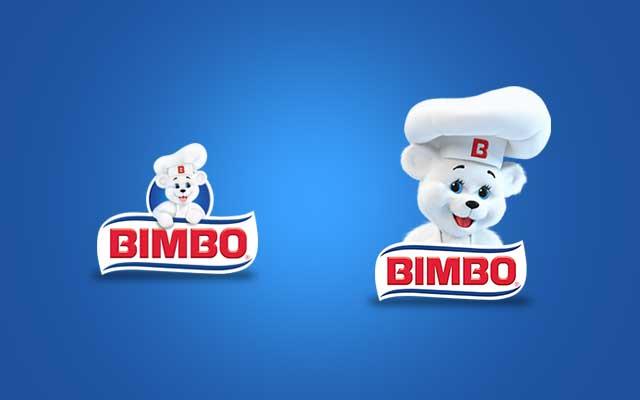 Antes y después del Branding para la marca Bimbo, basado en la evolución de la misma. Diseño: Imaginity