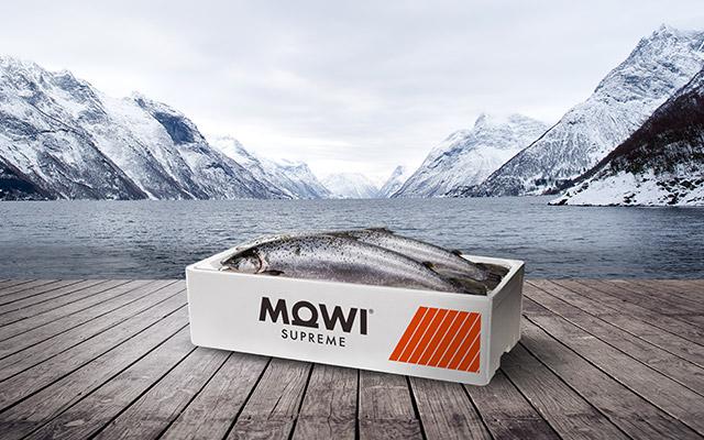 Diseño de empaque para Mowi Supreme Global Brand, de Noruega por Imaginity