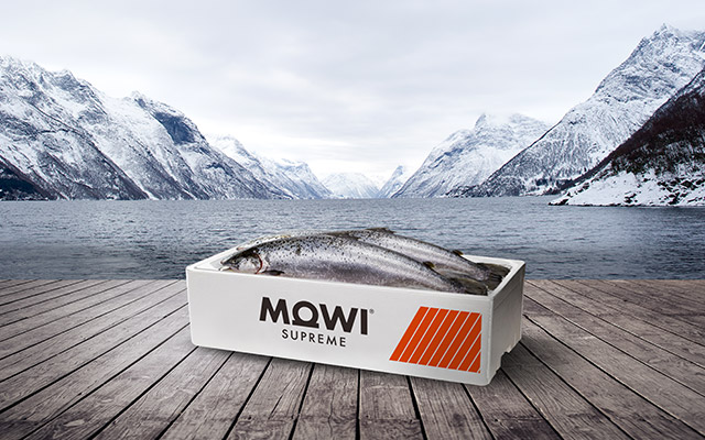 Packaging Design for Mowi Supreme Global Brand, from Norway by Imaginity