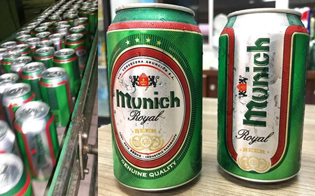 Packaging design for the Paraguayan beer Munich Royal - Imaginity