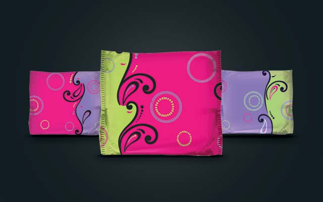 Disruptive, innovative product design for the category for the line of feminine protection Kotex Evolution - Imaginity