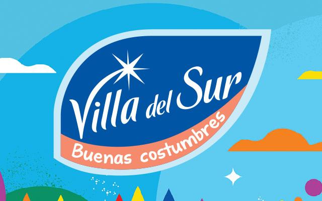 Diseño de packaging Mineral water Villa del Sur, edición especial. Diseño de branding. Diseño: Imaginity