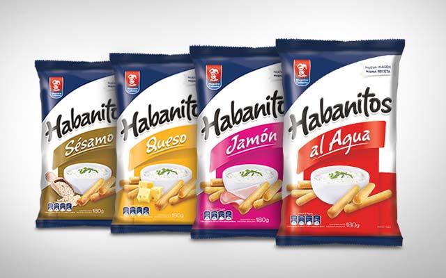 Diseño de packaging y branding para la línea de productos Habanitos de Maestro Cubano, Grupo Bimbo, Uruguay - Imaginity