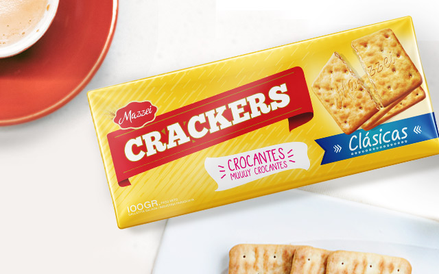 Packaging Design for Mazzei  Classic Crackers, Healthy Cookies, Paraguay by Imaginity