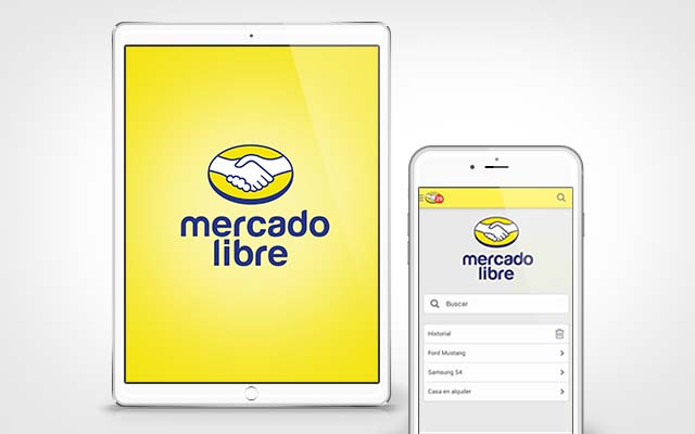 Applications of the new logo created for Mercado Libre Argentina - Imaninity
