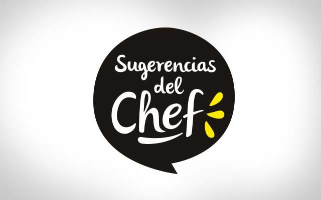 Detalle del diseño de packaging para la nueva línea de Sugerencias del Chef. Diseño: Imaginity.