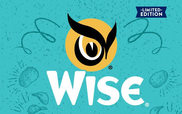 Detalle del diseño de empaque de snacks Golden Original edición especial 100 aniversario de Wise, Estados Unidos - Imaginity